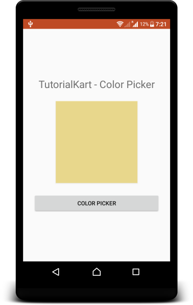 Kotlin Android - Color Picker