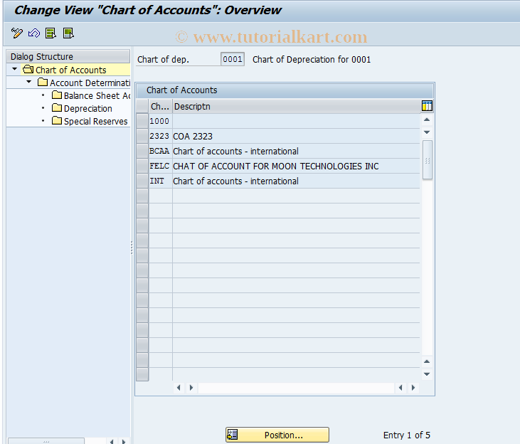 SAP TCode AO90 - Account assignmt Acquisitions