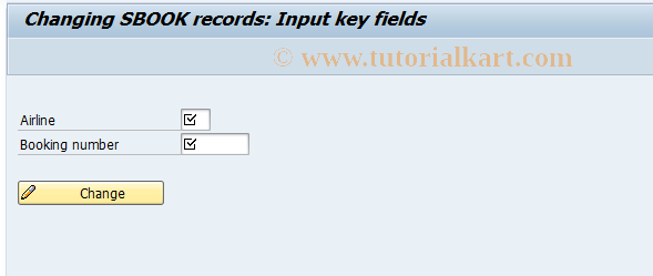 SAP TCode BC_GLOBAL_SBOOK_EDIT - Changing SBOOK records