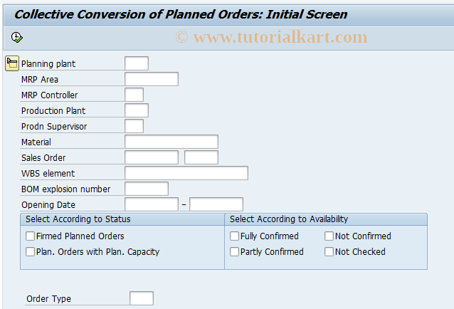 Production Order In Sap