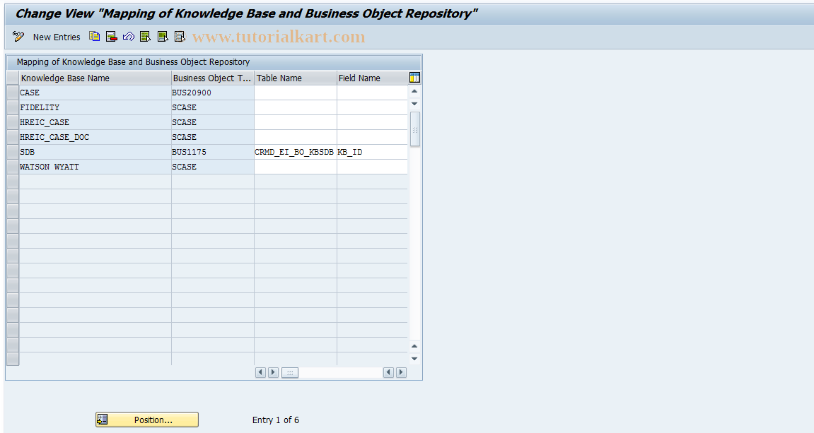 CRMC_SAF_ICKB SAP Tcode : Knowledge search attachment Transaction Code