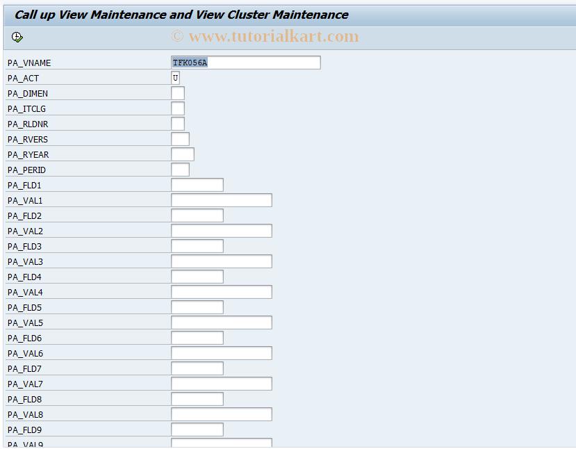 SAP TCode CXNI - Display Items from Integration