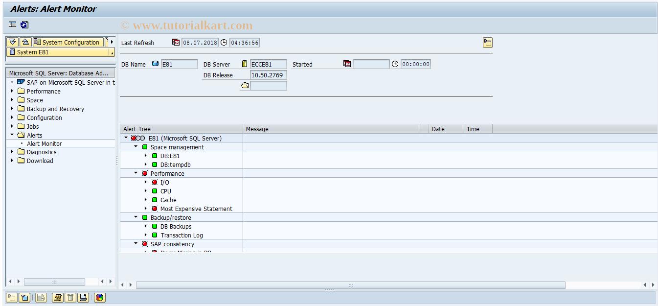 DB6COCKPIT SAP Tcode : DB6: DBA Cockpit Transaction Code