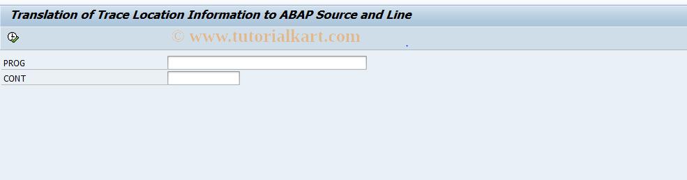 SAP TCode DBA_VIEW_ABAP_SOURCE - DBA Cockpit: View ABAP Source