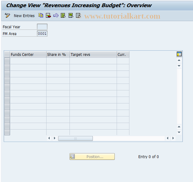 SAP TCode DECK - Cash Holding Years