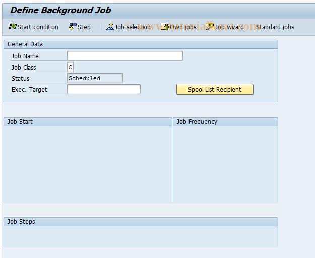 SAP TCode F.29 - A/R: Set Up Info System 1