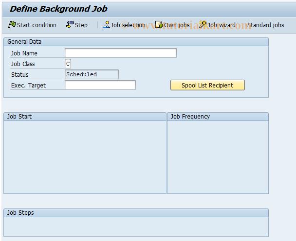 SAP TCode F.45 - A/P: Set Up Info System 1