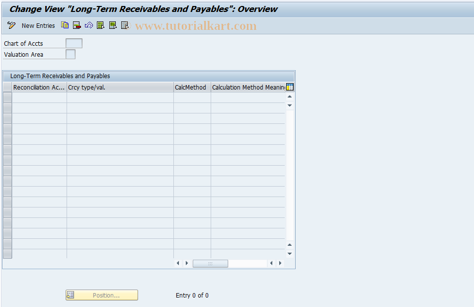 SAP TCode F107_PROV_RP - FI Discounting: Receivables/Payables