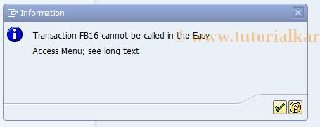 SAP TCode FB16 - Assign Items