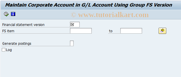 SAP TCode FBIC002 - Automatically Assign Accounts