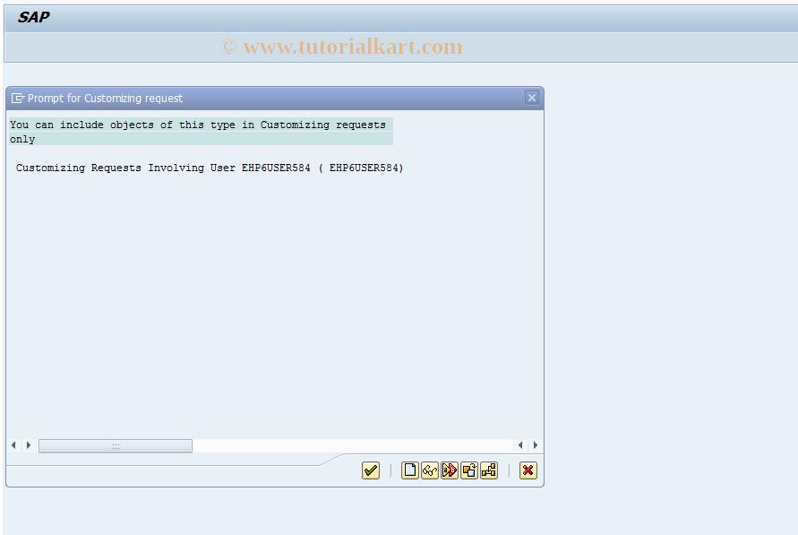 SAP TCode FDKTRANS - Transport User Actions FI_AP/AR