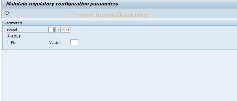 SAP TCode FEV13A - Cost element variants