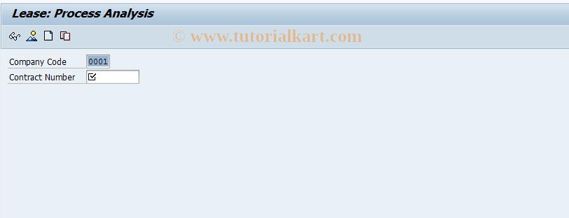 SAP TCode FILAADMN - Process Processing Initial Screen