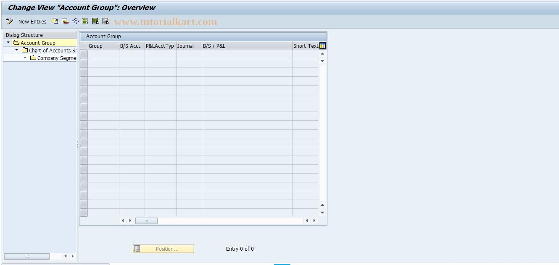 SAP TCode FIN_GLACCT - Maintain G/L Accounts