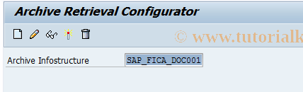 SAP TCode FPAC02 - Activate AS for Document Archiving