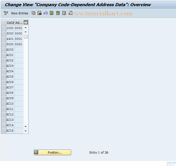 SAP TCode FSAV - Balance Confirmations: Reply View