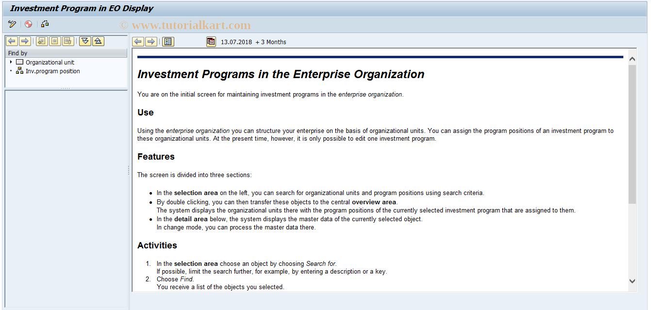 IMEO3 SAP Tcode : Display Invoice Program in Enterp