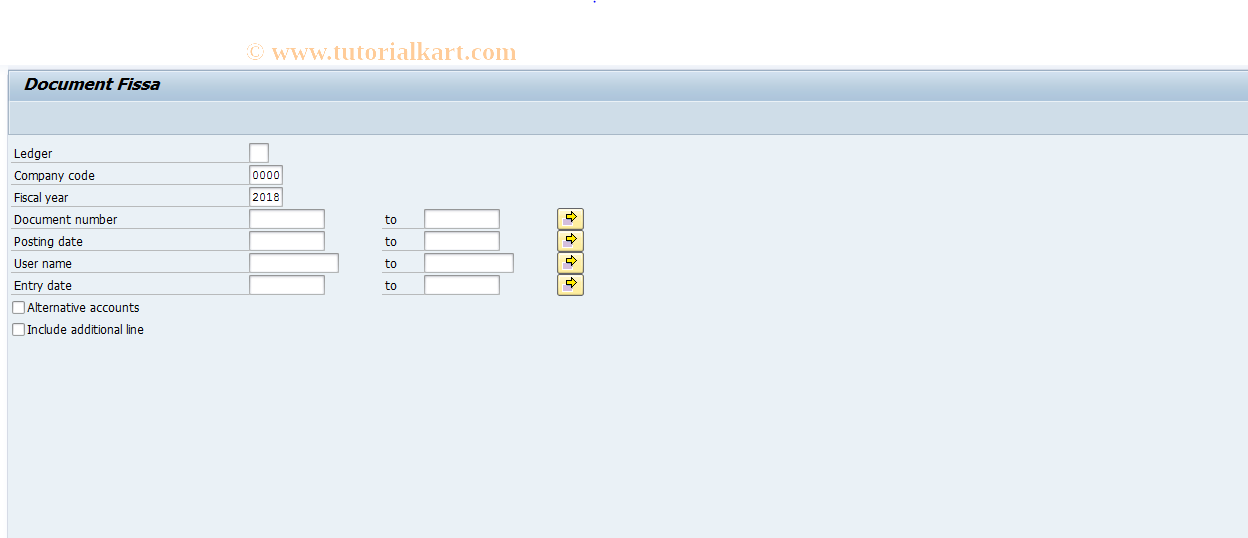 SAP TCode J1GFISA - Print FI document card