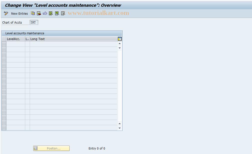 SAP TCode J1G_SM30_GL - Maintain J_1GGL