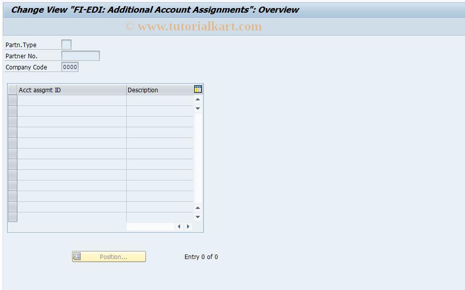 OBCC SAP Tcode : C FI Maintain Table T076K Transaction Code