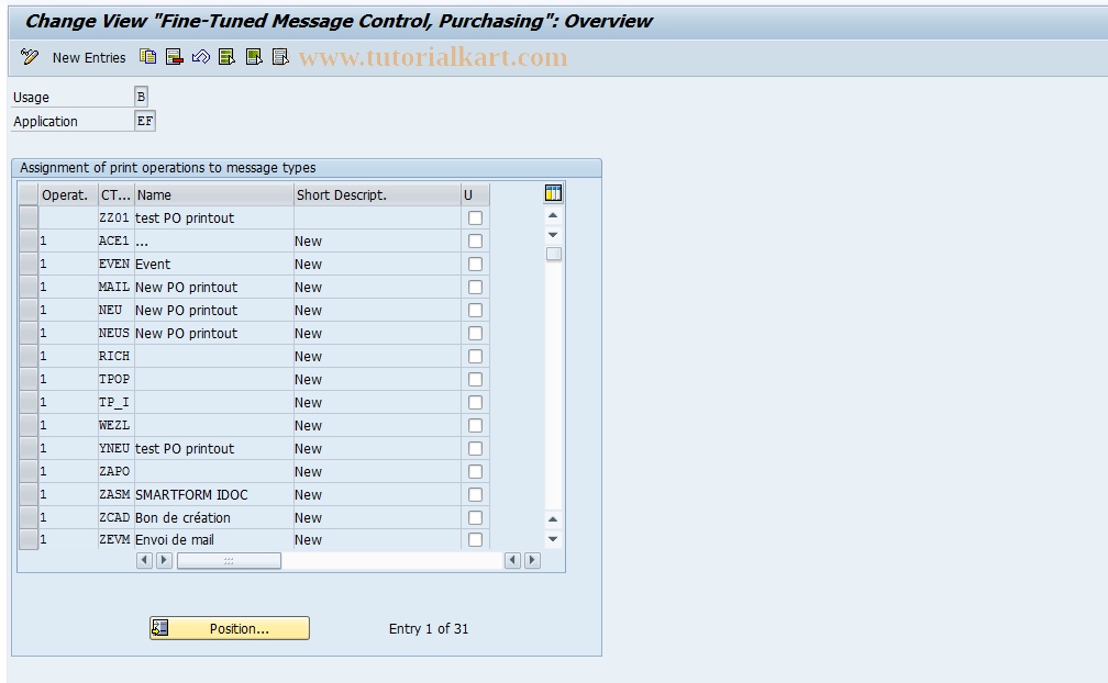 OMQN SAP Tcode : Fine-Tuned Control: Purchase Order
