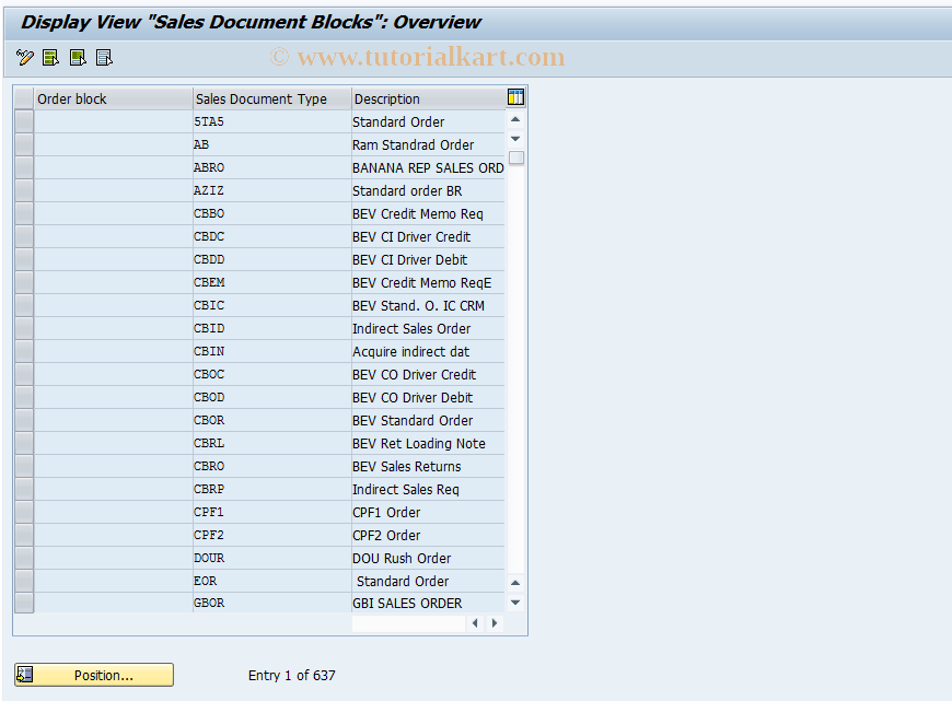OVFK SAP Tcode : C SD Table VFK Billing Documents