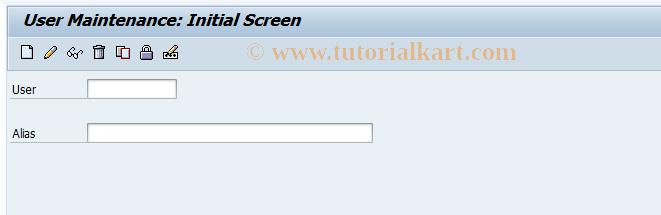 SAP TCode OY27 - Create super user        Customizing