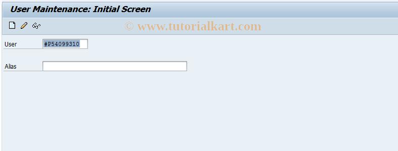 SAP TCode OY29 - Technical Writer