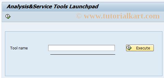 SAP TCode ST13 - Analysis&Monitoring tool collection