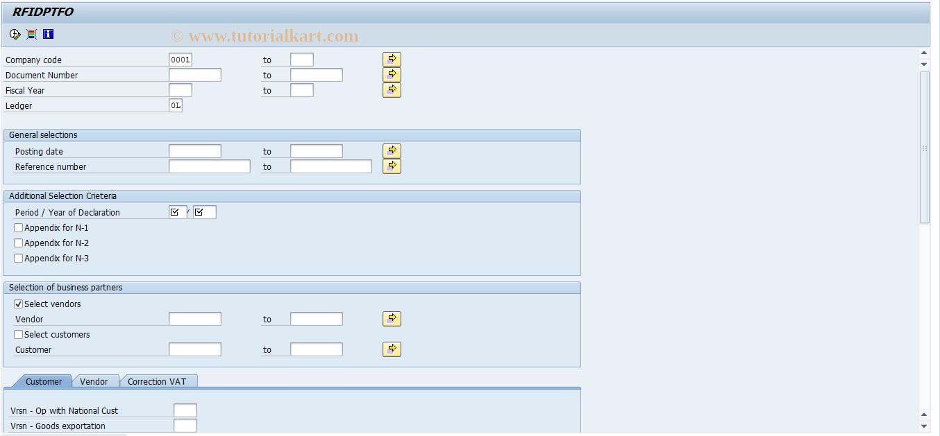 SAP TCode S_AL0_96000738 - RFIDPTFO