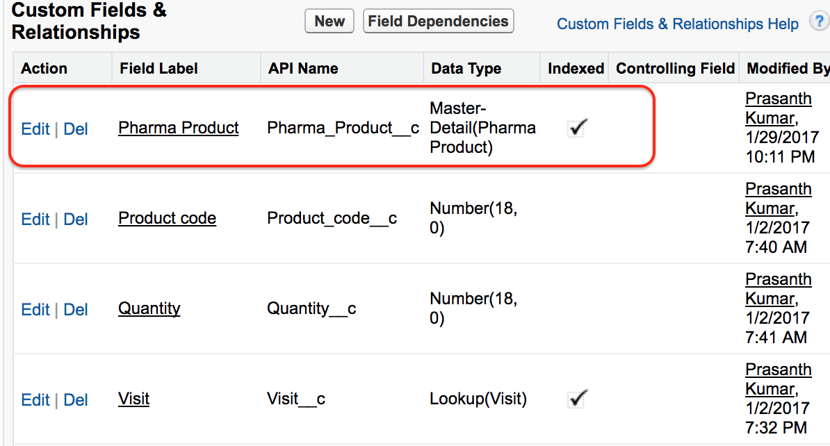 How to Create Master Detail relationship in Salesforce