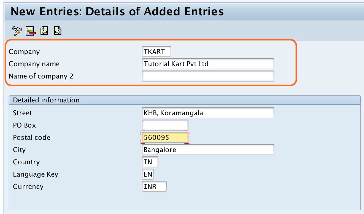 How to Define Company in SAP (Group Company)
