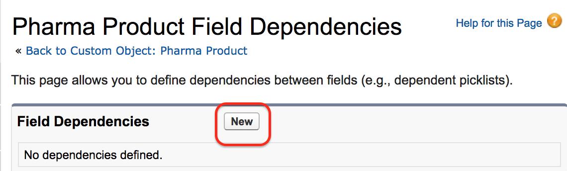 Field Dependencies in Salesforce - Salesforce Tutorials