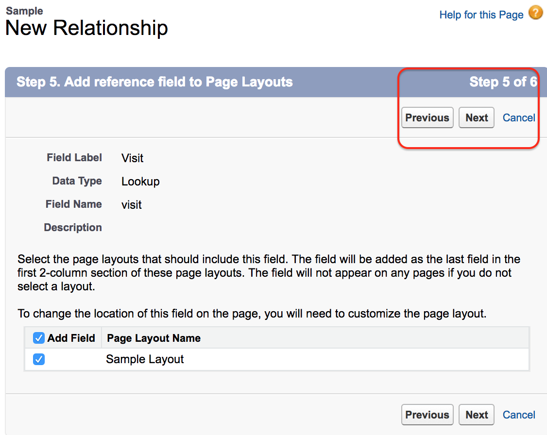 How to create lookup relationship in salesforce