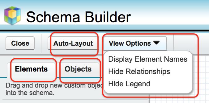 Salesforce schema builder