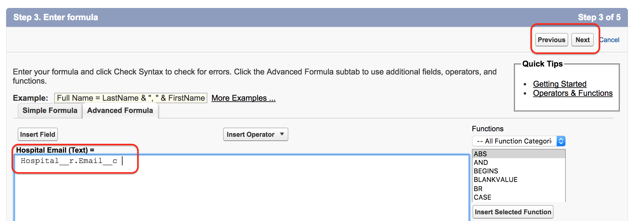 What are Cross Object Formulas in Salesforce