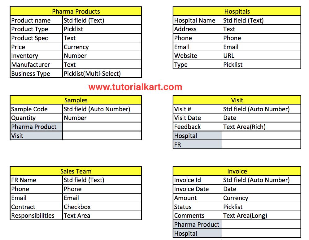 customize Standard Salesforce Application