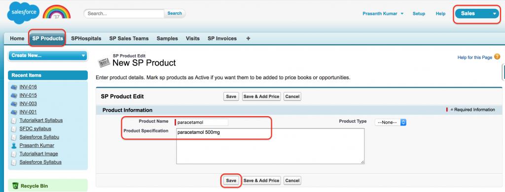 customizing standard application to custom application