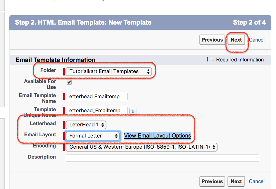 Creating new salesforce email for Pdfbox template