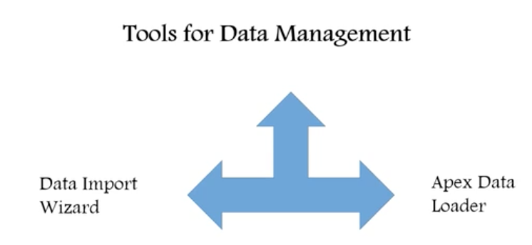 Data Management tools in Salesforce