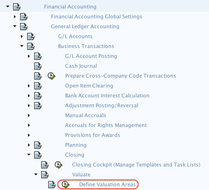 Define Foreign Currency Valuation Method in SAP