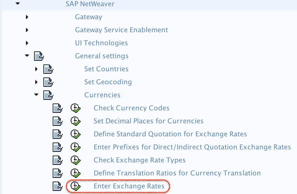 How to Enter Exchange Rates in SAP