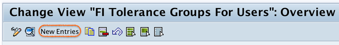 FI Tolerance Groups For Users