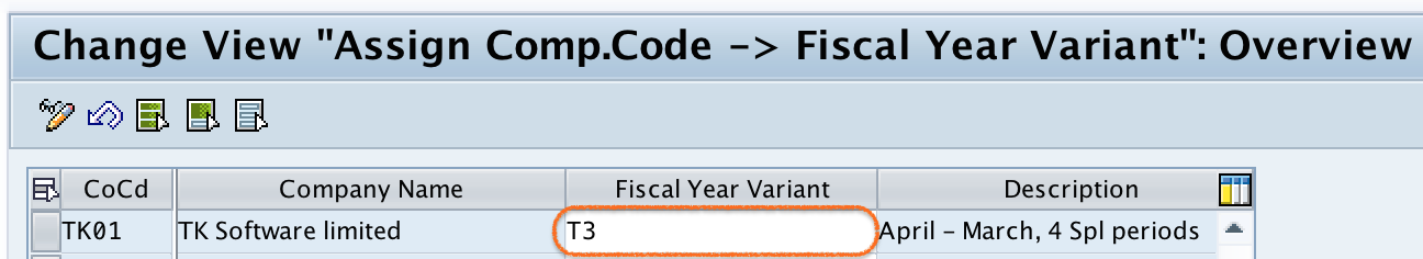 How to Assign Company Code to Fiscal Year Variant in SAP