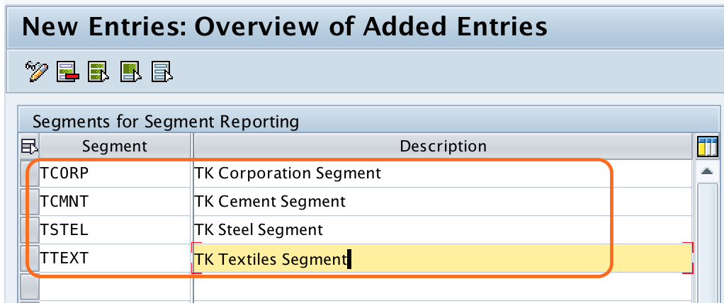 How to Create Segment in SAP