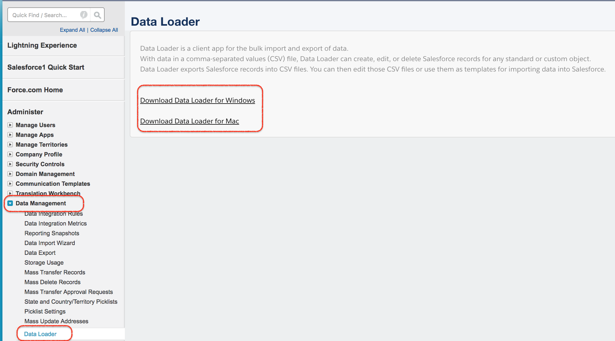 How to Install Salesforce Data Loader in macOS and Windows