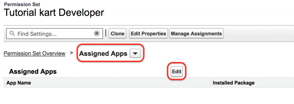 Permission Sets in Salesforce