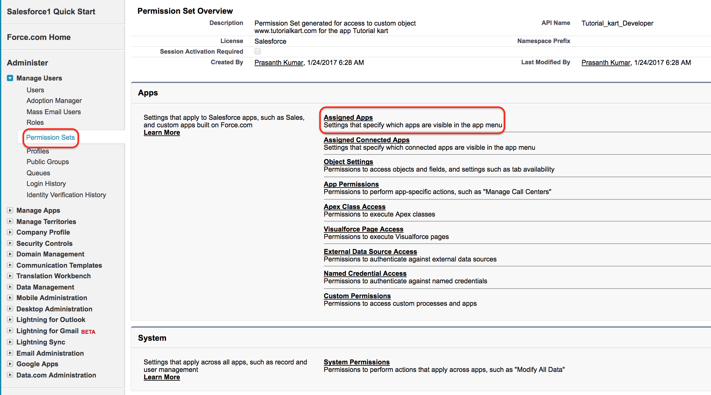 Difference between Profiles and Permission Sets in Salesforce