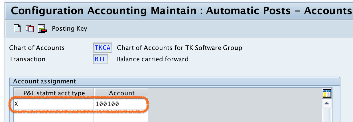 how to create Retained Earnings Account in SAP
