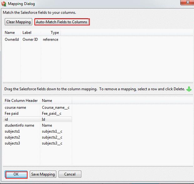 Data Loader Salesforce Upsert
